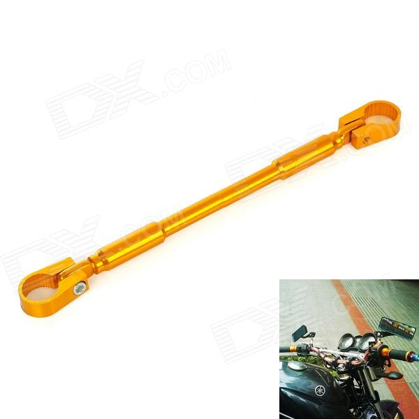 Motorcycle DIY Extension Aluminum Alloy Handle Cross Bar - Golden