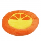 Soft Plush PP Cotton Pet Bed Mat for Cat / Dog - Orange + Yellow