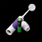 MM-28 LED Light Anti-fog Dental / Oral Care Mirror - White + Purple