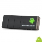 GV-18 Mini Android 4.0 HDMI TV Box w/ Remote Control - Black (4GB / 1GB DDR III)