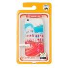 BASEUS SYAPINH5-RN Colosseum in Rome Pattern Protective Plastic Case w/ Screen Film for Iphone 5