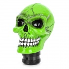 Cool Skull Style Car Shift Gear Knob - Green