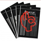 OK Gesture Style Universal Reflective Safety Car Sticker - Multi-Colored (5 PCS)