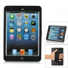360 Degree Rotary Protective Case w/ Stand for iPad Mini - Black