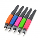 Stainless Steel Eyebrow Tweezers Set - Multi-Color (5 PCS)