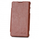 KALAIDENG Protective PU Leather + Super Fiber Case for Sony LT29i - Brown