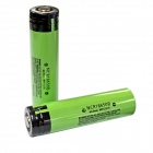 Panasonic Super Max 3.7V 3400mAh Rechargeable 18650 Li-ion Battery w/ Protection Circuit (2 PCS)