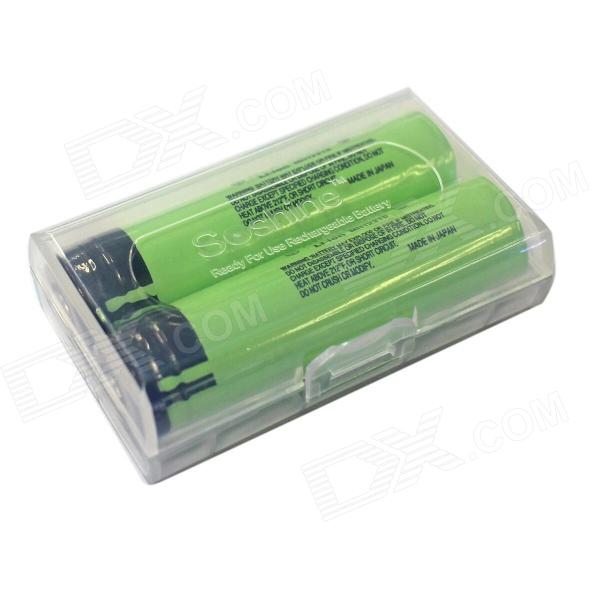 Panasonic Super Max 3.7V 3400mAh Rechargeable 18650 Li-ion Battery w/ Protection Circuit (2 PCS) beko dfn 1430