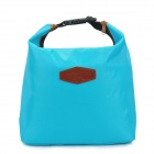 Multifunction Outdoor Picnic Warm / Fresh / Cold Food Keeping Storage Handbag - Blue