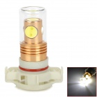 C20121206-1 H16 6W 350lm 4-LED White Light Car Foglight w/ Glass Cover - (DC 12~24V)