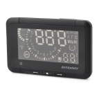 F-01 Automobile HUD Head Up Display System - Black
