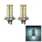 H7 3.5W 320lm 68-3528 SMD LED White Light Car Foglight (Pair / 12V)