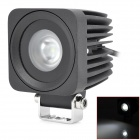 10W 6000K 900lm 1-LED White Scoop / Work light (DC 10~30V)