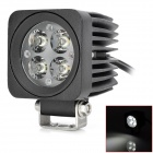 12W 6000K 800lm 4-LED White Scoop / Work light (DC 10~30V)