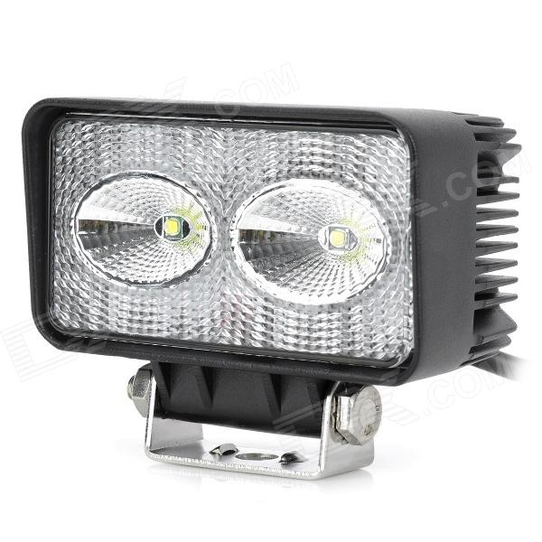 10W 900lm 2-LED White Light Car Work / Maintenance / Reversing Lamp w/ Cree XM-L T6 - Black