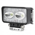 10W 900lm Cree XM-L T6 2-LED White Light Car Work / Maintenance / Reversing Lamp - Black
