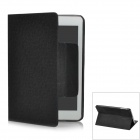 Protective PU Leather Case for iPad Mini - Black