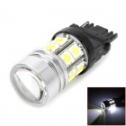 3156 8W 450lm 7500K 12-SMD 5050 LED White Car Foglight / Brake / Backup Lamp w/ CREE XP-E (12V)