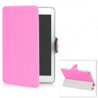 Protective PU Plastic Case for Ipad MINI - Pink