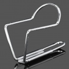 Bike Bicycle Motorcycle Aluminum Alloy Water Bottle Holder Cage - Silver