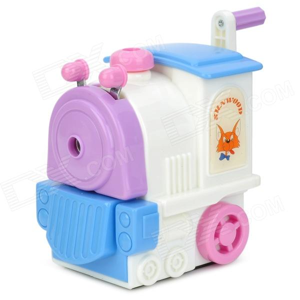5169 Locomotive Style Pencil Sharpener / Machine - White