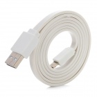 USB 8Pin Blitz Laden & Datenübertragungskabel für iPhone 5 - White