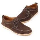 Jike 90019 Fashionable Men Casual Shoes - Brown (Pair / Size 42)