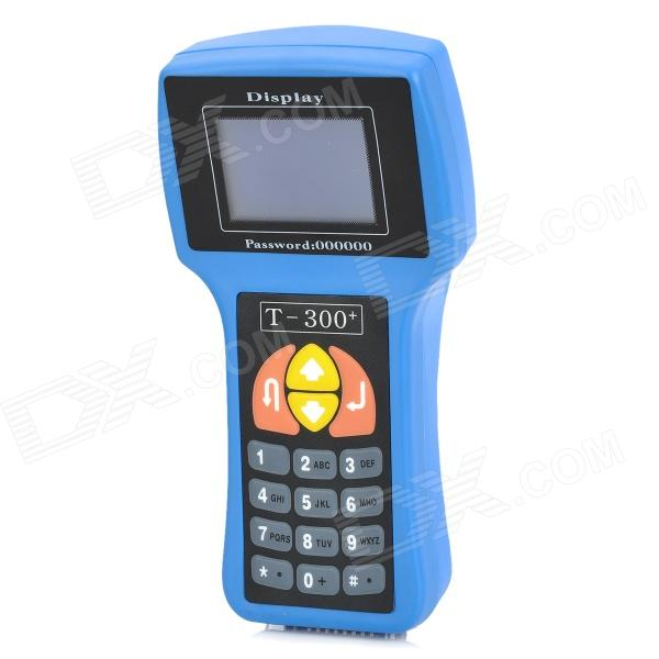 T-300 3 LCD Car OBD II Key Programmer - Black + Blue