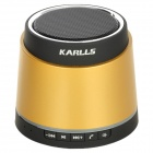 Karlls A3 Bluetooth v2.1 2-Channel Speaker w/ TF / AUX - Golden