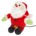 Lovely Santa Monkey USB  Spy Webcam (350K-Pixel)