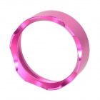 Aluminum Alloy Crown Head Front Head Cover for Flashlight - Deep Pink