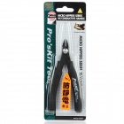 Pro'sKit 1PK-101-E Anti-Static Micro Nippers w/ Conductive Handle - Black