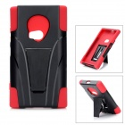 Cool Protective Back Case for Nokia Lumia 920 - Black + Red