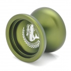 MAGICYOYO N12 Aluminum Alloy Yo-Yo Toy - Army Green + Silver