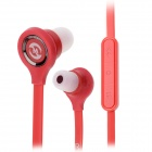 Mosidun MSD-510 In-Ear-Ohrhörer w / Mikrofon für Samsung / HTC / iPhone + More - Red