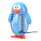 D8894B Penguin Style Electrical Mosquito Insects Killer Lamp - Blue (AC 220V / 2-Flat-Pin Plug)