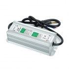 Water Resistance 60W External LED Power Supply Driver - Silver (90~265V)