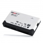 Kawau C235 Multi-Function USB 2.0 6-in-1 CF / SD / TF / MS Pro Duo / XD / M2 Card Reader - White