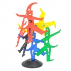 Castell Intelligent Education Toy - Black + Green + Red + Yellow + Blue