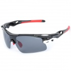 CARSHIRO 9358 Outdoor Riding Resin Polarized Lens PC Frame UV400 Protection Sunglasses / Goggles