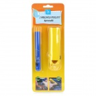 D122503X Retractable Car Cleaning Brush Set - Yellow + Blue
