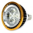 E14 5W 420lm 6500K 5-LED White Light Spotlight (220V)