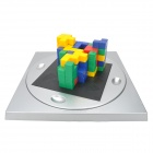 XiaoGuaiDan 0089 Magic 3D Cubes Plastic Desktop Puzzle Toy - Multicolored
