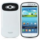 Protective PC Hard Back Case for Samsung Galaxy S3 i9300 - White + Black