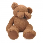 Cute Plush Shy Bear Doll Toy - Brown