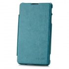 KALAIDENG Protective PU + Fiber Flip-Open Case w/ Stand for Sony LT29I - Green