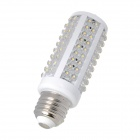 E26 7.5W 840lm 3500K 120-LED Warm White Light Lamp - White (85~265V)