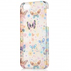 BASEUS ROAPIPH5-LV Butterfly and Flower Pattern Plastic Back Case for iPhone 5 - Multicolored