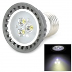 E27 3W 320lm 6500K 3-LED White Light Spotlight (220V)