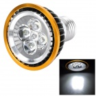 E27 5W 6500K 420lm 5-LED White Spotlight (220V)